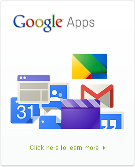 Google Apps - Click here for more info